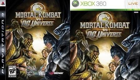 'Mortal Kombat vs. DC Universe', más imágenes y carátula oficial