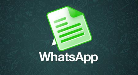 WhatsApp se prepara para permitirte enviar documentos dentro de poco
