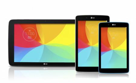 LG nos enseña sus próximos G Pad: en 7, 8 y 10 pulgadas