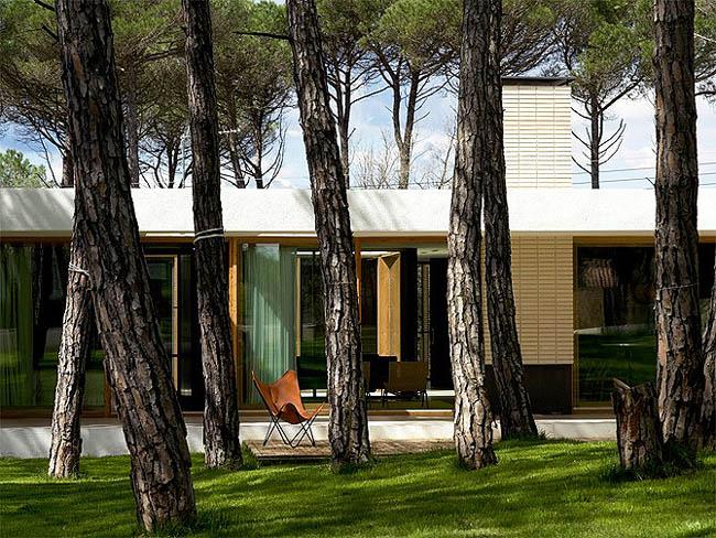 Casa de lujo en espa a casa mj en girona - Casas de madera de lujo en espana ...