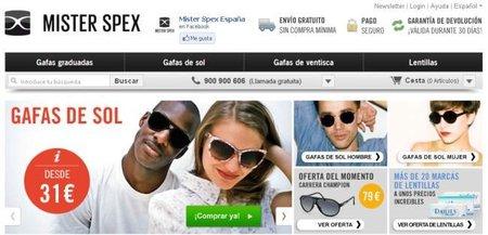 Mister Spex, gafas y lentillas más económicas suscribiéndose a su Newsletter