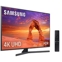 Entretenimiento asegurado con la Samsung UE43RU7405, una moderna smart TV 4K de 43 pulgadas que sigue a precio mínimo en Amazon, por 389,99 euros