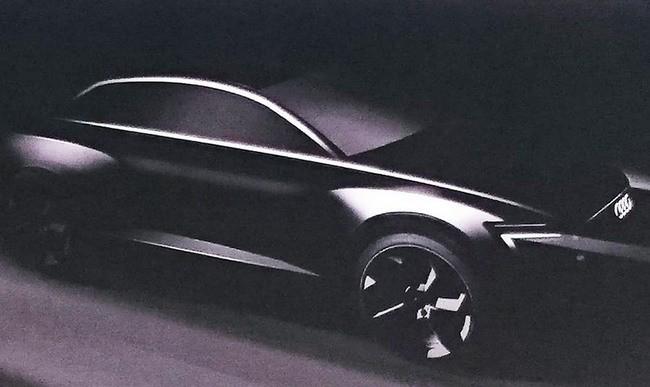 Suv Audi Prototype Electric Samsung and LG Chem batteries provide power to the next SUV Audi - tinoshare.com