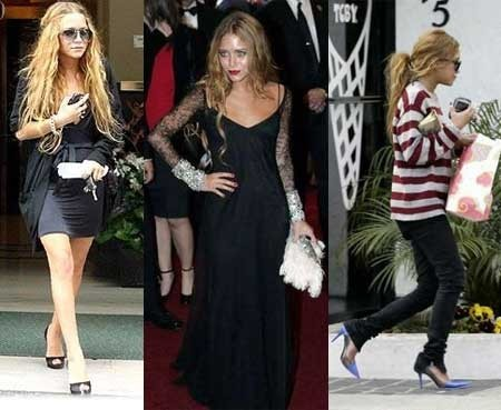 El estilo de Mary Kate Olsen