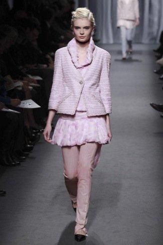 Chanel Alta Costura Primavera-Verano 2011 rosa