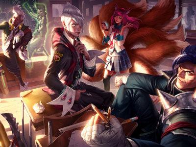 ¡Un festín para la vista! Ya puedes ver totalmente gratis el libro de arte digital de League of Legends