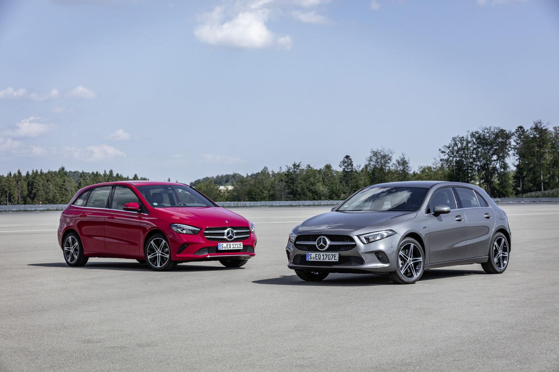 Foto de Mercedes-Benz A 250 e y B 250 e (28/34)
