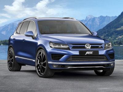 Esta es la interpretación del Volkswagen Touareg bajo la mirada de ABT