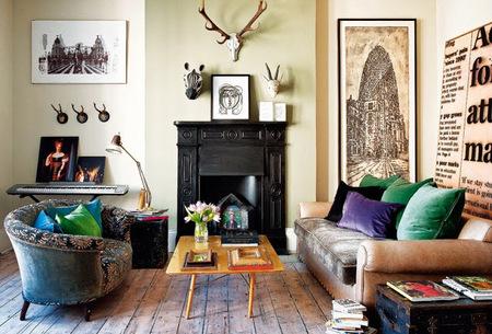 Un apartamento en Notting Hill lleno de detalles