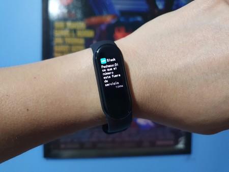 Xiaomi Mi Smart Band 5 Primeras impresiones Pantalla de notificaciones de México