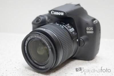 Canon EOS 1200D, prueba a fondo