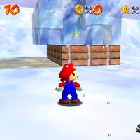 Super Mario 64: cómo conseguir la estrella In the Deep Freeze de Snowman's Land