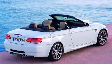 BMW M3 Cabrio, galería de fotos y más información