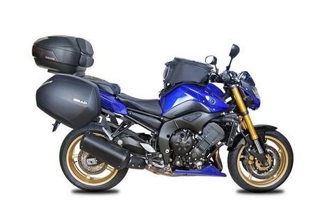 SHAD deja la Yamaha Fazer FZ8 lista para viajar