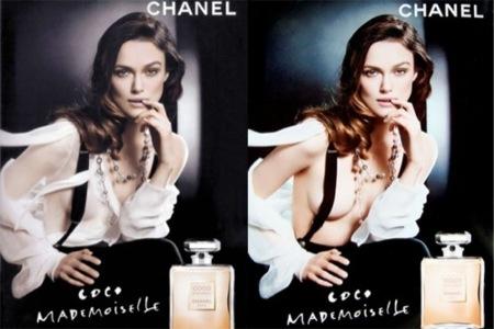 Keira Knightley, el Photoshop y la campaña de Coco Mademoiselle IV