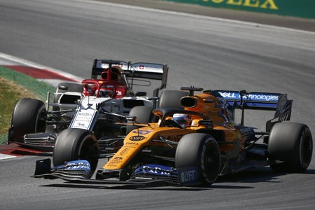 Sainz Raikkonen Austria F1 2019
