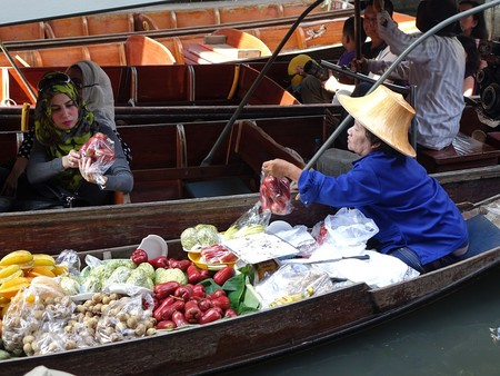 Damnoen Saduak Floating Market 546268 960 720