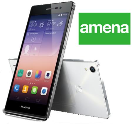 Precios Huawei Ascend P7 con Amena