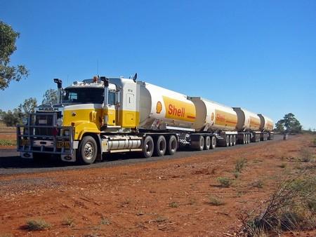 Tren de carretera camion
