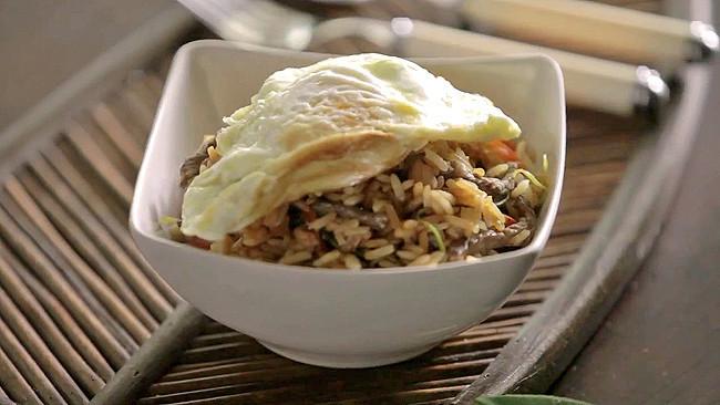 Receta de Bibimbap con arroz Thai