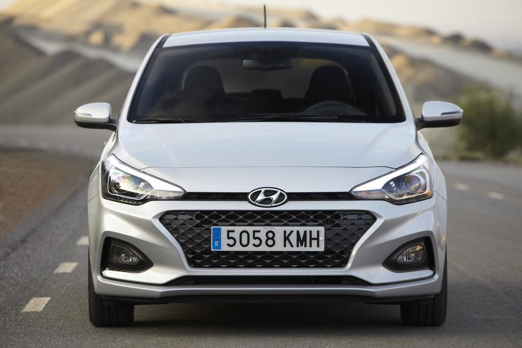 Hyundai i20 frontal