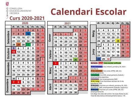 Calendario-escolar-Baleares-2020-2021