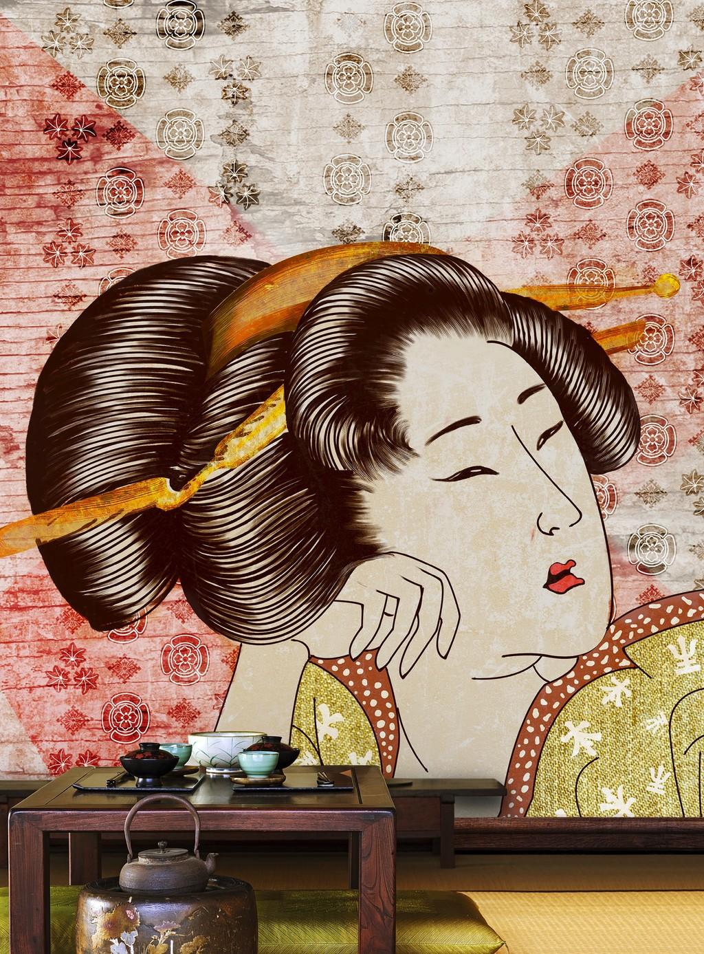 11 diseños de papel pintado inspirados en el lejano oriente, que aportan personalidad a las paredes