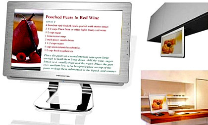 Pandigital Kitchen, recetario, televisor y mucho más