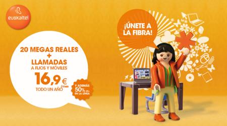 Euskaltel prepara un nuevo aumento de velocidad de su Banda Ancha fija