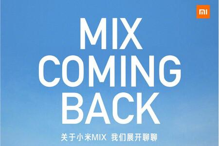 Los Xiaomi Mi Mix regresan el 29 de marzo: Xiaomi confirma un nuevo lanzamiento en pocos días