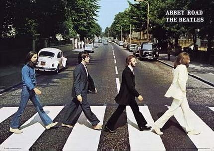 Abbey Road portada disco The Beatles