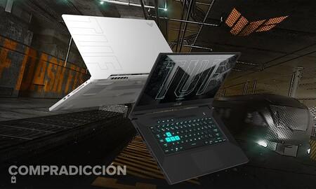 Potencia bruta de última generación al mejor precio: Amazon te deja el portátil gaming ASUS TUF Dash F15 TUF516PM-HN135 con gráfica RTX3060 por 200 euros menos