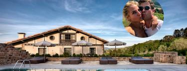 Rodeado de viñedos de txakoli y con vistas al mar, así es el hotel en el que están alojados Elsa Pataki y Chris Hemsworth en Guetaria