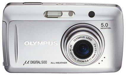 Olympus Stylus 500, 5 megapixels