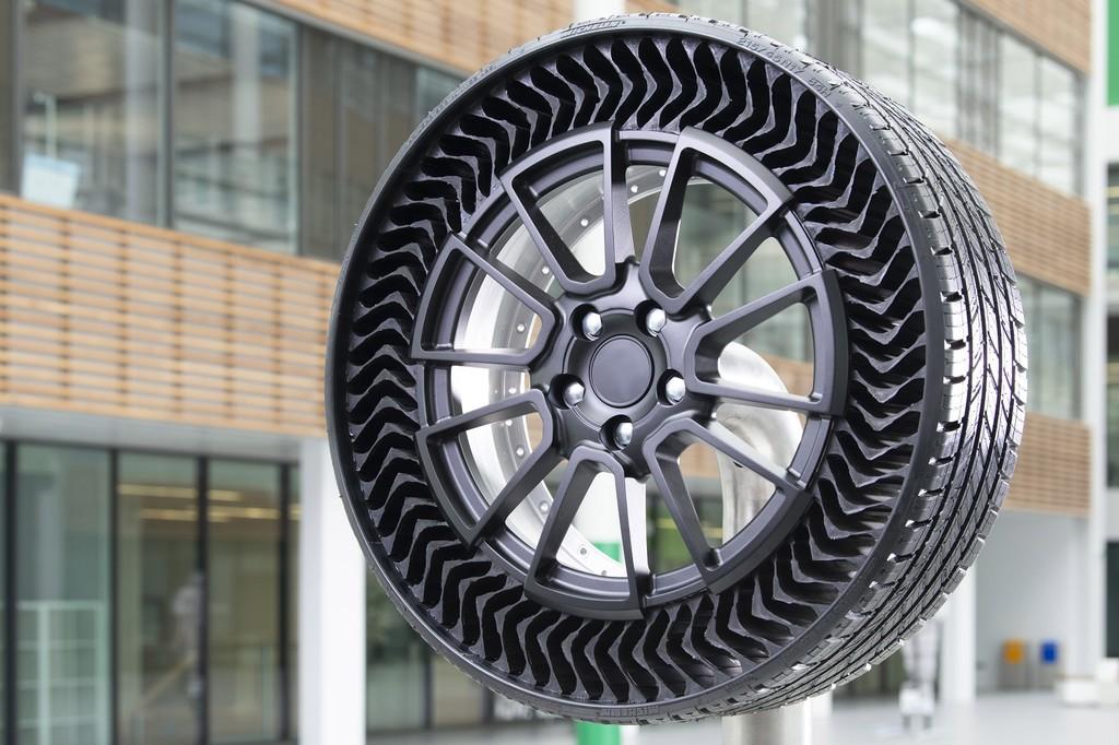 Michelin equipará los coches de General Motors con sus nuevas ruedas sin aire a prueba de pinchazos