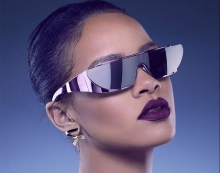 Rhianna Dior Star Trek Sunglasses
