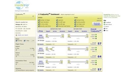 InsideTrip, buscador de vuelos a nivel internacional