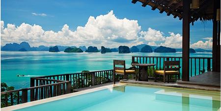 Experiencia Six Senses en la bahía Phang Nga de Tailandia