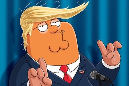 "Donald Trump ""hace campaña"" a favor de 'Padre de familia', la imagen de la semana"