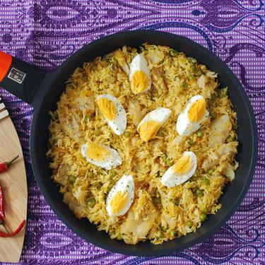 Arroz al curry con bacalao y huevo: receta fácil del tradicional kedgeree británico