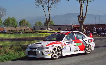 Mitsubishi Lancer Evo IV - Rally Catalunya