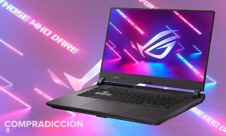 Más barato todavía: el portátil gaming ASUS ROG Strix G513IH HN008 es ahora un chollazo en PcComponentes que cuesta 350 euros menos