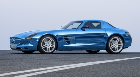 Mercedes-Benz SLS AMG Coupé Electric Drive 02
