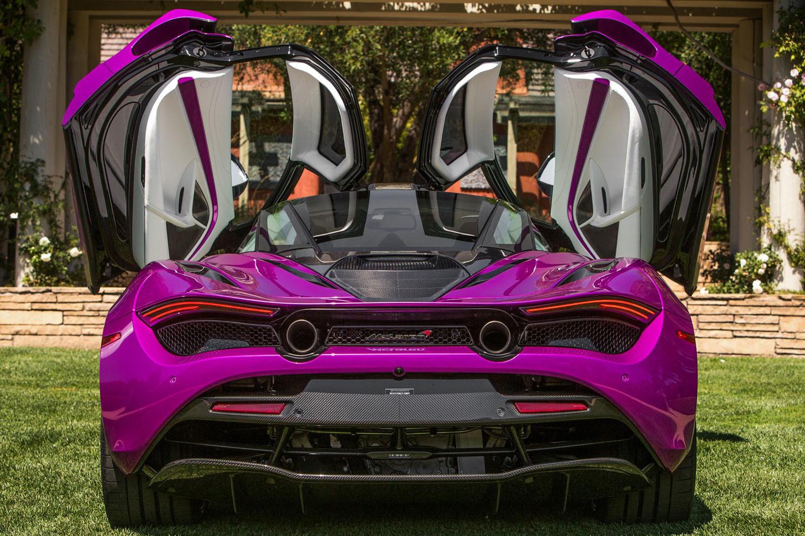 McLaren 720S fuxia