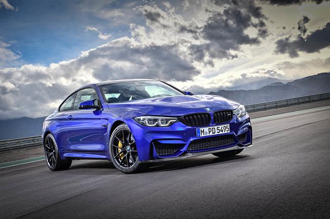 BMW M4 CS: 460 CV y Competition Pack en edición limitada
