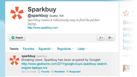 Google compra Sparkbuy, un buscador de producto