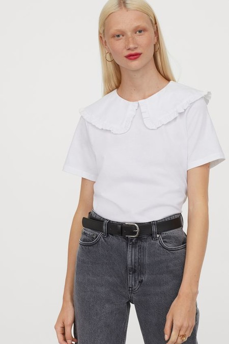 Camiseta con cuello