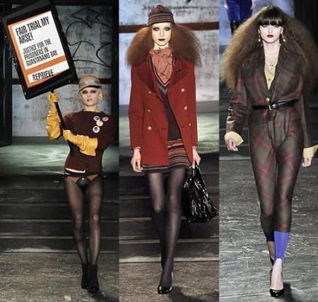 El regreso de Vivienne Westwood a la Semana de la Moda de Londres otoño/invierno 2008/2009