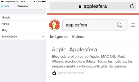 DuckDuckGo iOS 8