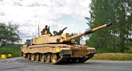 Challenger2 Bergen Hohne Training Area 2